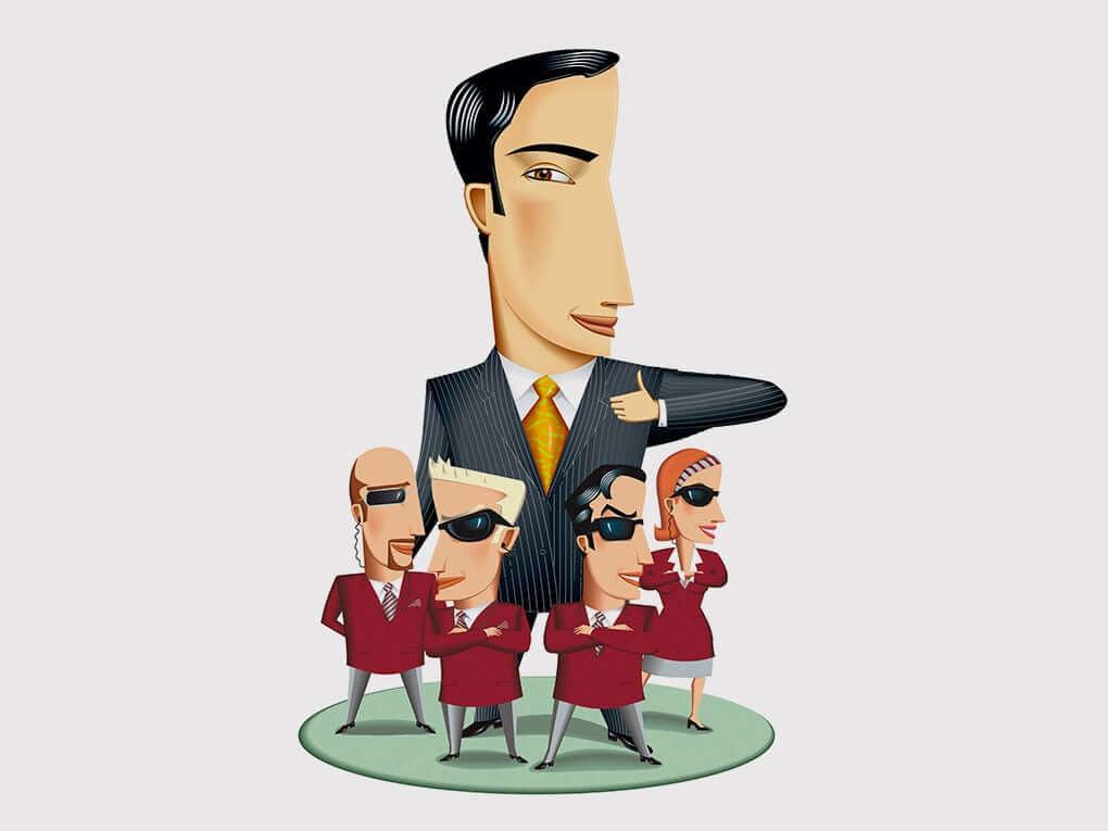 Bodyguards Illustration